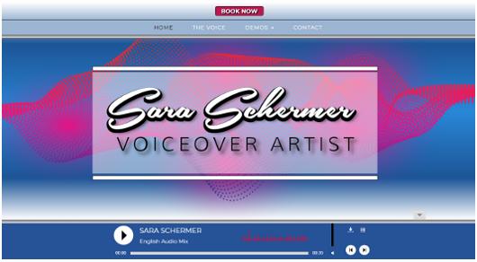 Sara Schermer Voiceover artist